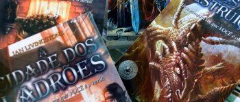 Divirta-se com os livros-jogos Aventuras Fantásticas